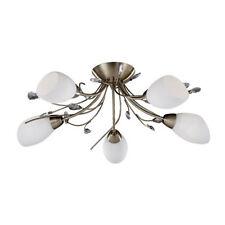 Searchlight Brass Modern 4-6 Ceiling Lights & Chandeliers