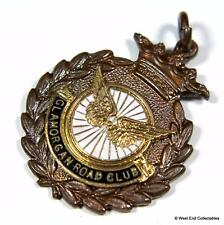1962 Glamorgan RC Road Club Cycling Association Medal Fob - Welsh Cycling