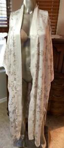 Neiman Marcus Silk Lounging Robe, Oversized P # 112314