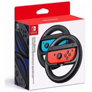 Nintendo Switch Lenkrad Original 2er Pack Joy Con Wheels NEU