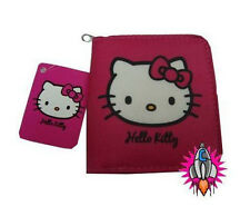 HELLO KITTY BLUSH PINK COIN CLIP PURSE WALLET NEW WITH TAGS