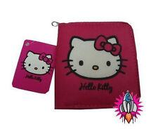 Hello Kitty en Rosa Clip de moneda monedero billetera Nuevo con etiquetas