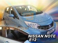 Wind Deflectors NISSAN NOTE II E12 5-doors 2013-onwards 2-pc HEKO Tinted