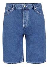 Topman Blue Denim Jean Oversize Skater Shorts W30 W32