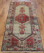 OLD WOOL HAND MADE PERSIAN ORIENTAL FLORAL RUNNER AREA RUG CARPET 202x76CM