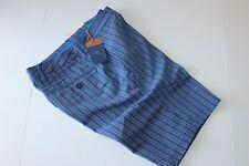 Tommy Bahama Shorts Back Swing Stripe Blue Marlin T816730 New 32 Waist