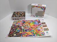 "Aimee Stewart ""Candylicious"" 1000 piece jigsaw puzzle by Buffalo, 91520, 27""x20"""