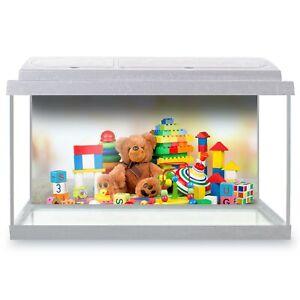 Fish Tank Background 90x45cm - Childrens Toys Nursery Toy Shop  #44584