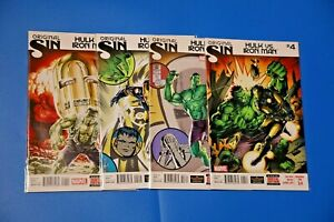 Marvel Comics ORIGINAL SIN: HULK VS IRON MAN #1-4 complete Kieron Gillen