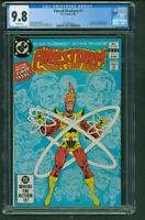 Fury of Firestorm 1 CGC 9.8 White origin and 1st Black Bison DC 1982