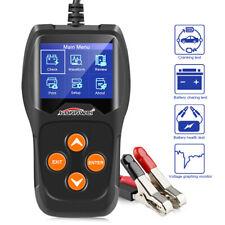 12V Car Battery Load Tester KW600 Digital Auto Battery Analyzer Up 2000CCA