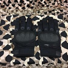New Valken Zulu Full Finger Tactical Paintball Gloves - Black - Small