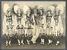1925 Vaudeville Cosmopolitan Chorus Louise Brooks Oversized DBW Photo by Schwarz