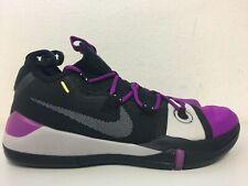 Nike Kobe AD Exodus Black Vivid Purple Grey AV3555-002 Size 12