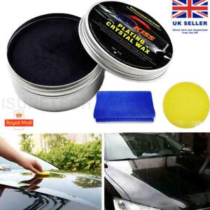 Car Wax Crystal Plating Set Hard Glossy Carnauba Wax Paint New Care Coating C0V9