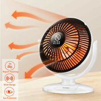 200W Portable Mini Electric Heater Fan Winter Air Warmer Silent Desk Home Office