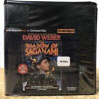 The Shadow of Saganami by David Weber Ex Library 26 CD Unabridged Audiobook