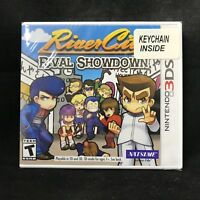 River City: Rival Showdown - Limited Edition KeyChain (Nintendo 3DS) BRAND NEW