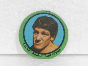 OSCAR RINGO BONAVENA Nº 214 1969 ORIGINAL BOXING CARD