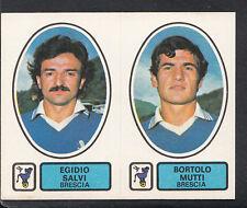 PANINI CALCIATORI FOOTBALL Adesivo 1977-78, N. 386, BRESCIA-EGIDIO SALVI