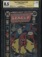 Justice League of America #106 CGC 8.5 SS Len Wein 1973