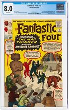 Fantastic Four 15 CGC 8.0