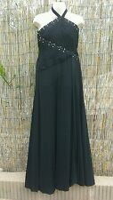 BCBG MAXAZRIA black long evening gown prom party dress size 4