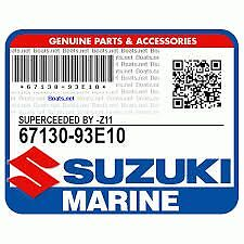 SUZUKI MARINE CONTROL BOX ATTACHING ASSY, DISCONTINUED OEM P/N 67130-93E10