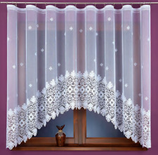 Beautiful New Ready Made Jacquard Net Curtain stylish design 370x160cm Window