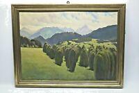 Gustav Müller Gemälde Allgäuer Hoinzer Widderstein