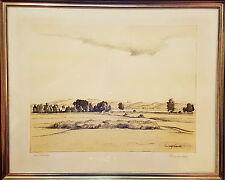 Rudolf Sieck. 1877 – 1957 Litho. Rahmen Glas  Sig. Original Rahmen