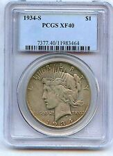 1934-S Peace Dollar XF40 PCGS Key Date