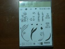 Stampin' Up Photopolymer Stamp Set Lovely Wishes RETIRED!!