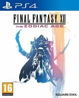 Final Fantasy XII The Zodiac Age PS4 New and Sealed