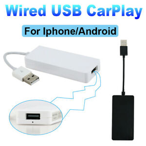 Carplay USB Dongle For Apple iPhone Android Auto Navigation Stereo NAVI Player