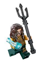 New LEGO DC Superheroes Aquaman Jason Momoa Minifigure 76085 Battle Atlantis