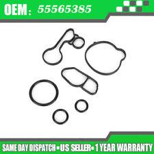 Oil Cooler Seals Kit fits Chevrolet Cruze Sonic Trax OIL FILTER HOUSING 55566784