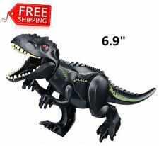 Giant Black Tyrannosaurus Rex Figure Building Toy Jurassic Unassembled usa