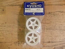92673 Narrow Wheel (5 Spoke White) - Kyosho Pure Ten TF-2 TF-3