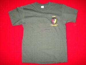 USMC 9th COMMUNICATIONS BATTALION Green OD Cotton T-Shirt New, Size Medium