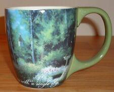 "BIRDBATH GARDEN ceramic coffee MUG by Lang ""The Path To Happiness Begins with.."""