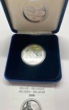 Belgium 10 Euro 2006 Silver proof Albert II - Justus Lipsius. 18.75 gram .925 S.