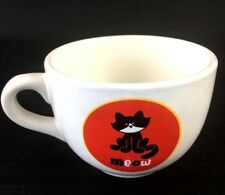 MEOW CAT COFFEE MUG 18 OZ Ceramic Jumbo Size Mug Coffee Tea Cocoa Soup