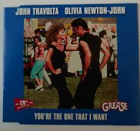 John Travolta Olivia Newton John You Re The One That I Want Grease Megamix Cd For Sale Online