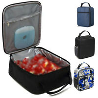 Portable Insulated Lunch Bag Totes Cooler Lunch Box Bag For Students Adult Kids