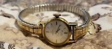 Vintage Omega Turler Geneve Gold and Silver Female Watch SMALL