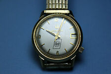 vint. Bulova Accutron men's wristwatch/watch Motor Wheel 25 yrs. service WORKS