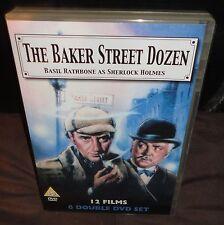Sherlock Holmes - Baker Street Dozen (DVD, 2005, 6-Disc Set, Box Set) 12 Films