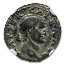 Roman Silver Denarius Emperor Galba (68-69 AD) CH Fine NGC