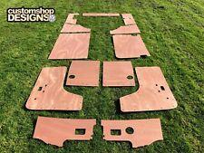VW Baywindow Camper Van Door Cards / Interior Panels 3.6mm Ply Trim Kit